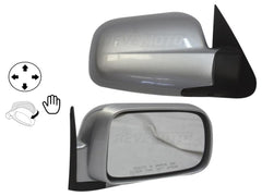 2002-2006 honda cr-v mirror, right Painted_Satin_Silver_Metallic_NH623M_76200S9AA01