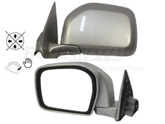 2002_Toyota_4Runner_Driver Side_View_Mirror_Manual; Manual Folding; Non-Heated Painted_Millenium_Silver_Metallic_1C0_ 8794035801 (2)