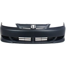 2001-2003 Honda Civic Front Bumper; Coupe/Sedan; HO1000197; 04711S5PA90ZZ