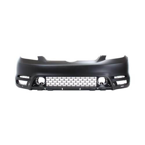 2003-2004 Toyota Matrix Front Bumper; XR_XRS Models; w_ Spoiler; Holes; TO1000237; 5211902918