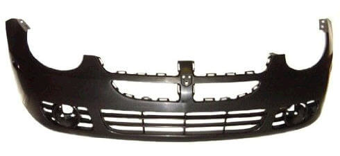 2003-2005 Dodge Neon Front Bumper (Except SRT-4; w Fog Light Holes) - CH1000378