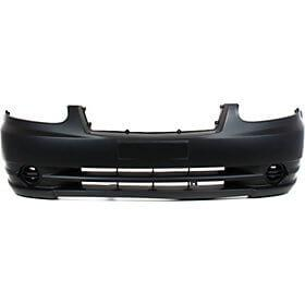 2003-2005 Hyundai Accent Front Bumper Cover (Sedan-Hatchback; w- Fog Light Holes) HY1000144