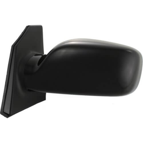 2003 Toyota Corolla Passenger Side View Mirror Painted Super White II (40) , Sedan; LE,S; Power; Non-Folding; Non-Heated; Without Signal Light_8791002391C0