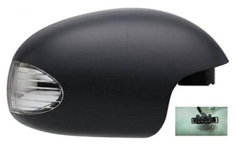 2003-2009 Volkswagen Beetle Side View Mirror (Heated; w/ Turn Signal; Driver-Side) - VW1320133