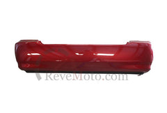 2008 Toyota Corolla Rear Bumper Painted Impulse Red Pearl (3P1); 5215902911