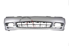 2001 Acura TL Front Bumper Painted Satin Silver Metallic (NH623M)