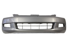 2003 Honda Accord Front  Bumper Painted Satin Silver Metallic (NH623M); 04711SDPA90ZZ