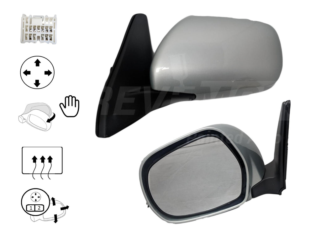 2005 Lexus GX470 : Painted Side View Mirror