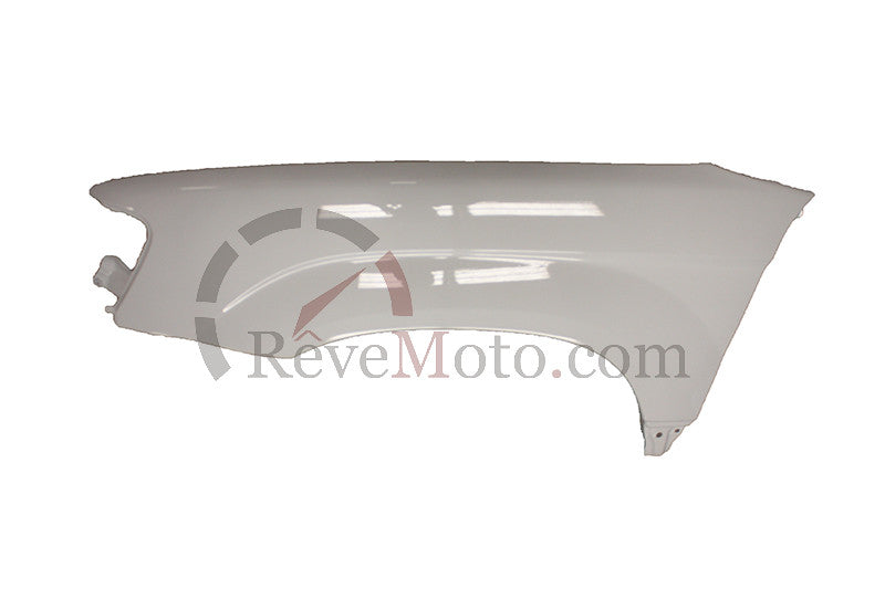2005 Subaru Forester Passenger Side Fender Painted Crystal Gray Metallic (Color Code: 48W)