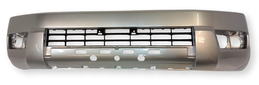 Toyota 4 Runner Front Bumper 03-05; Base_Sport_SR5 Models; Textured Gray; Upper; 2PC; 5211935050