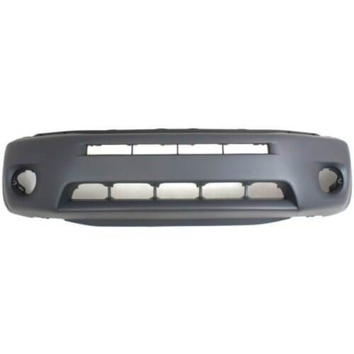 2004-2005 Toyota RAV4 Front Bumper; w_ Fender Flare Holes; TO1000275; 5211942923