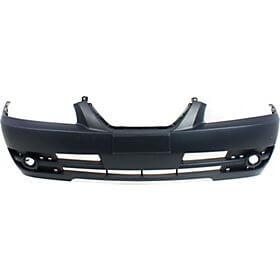 2004-2006 Hyundai Elantra Front Bumper Cover (Hatchback-Sedan; w- Fog Light Holes; w- Strip Holes) HY1000147