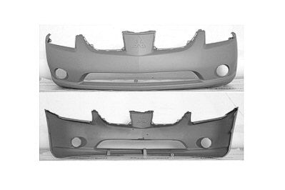 2004 Mitsubishi Galant Front Bumper (Ready to be Painted)