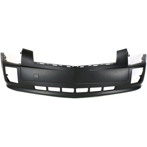 2004 Cadillac SRX Front Bumper Cover (w/o Sport Model; w/ Head Light Washer Holes; Upper/Lower 1-Piece; Replaces Original OE 2-Piece Design) GM1000695
