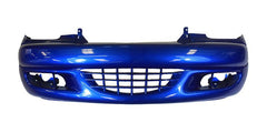 2003 Chrysler PT Cruiser Front Bumper Painted Electric Blue Pearl (PB5)