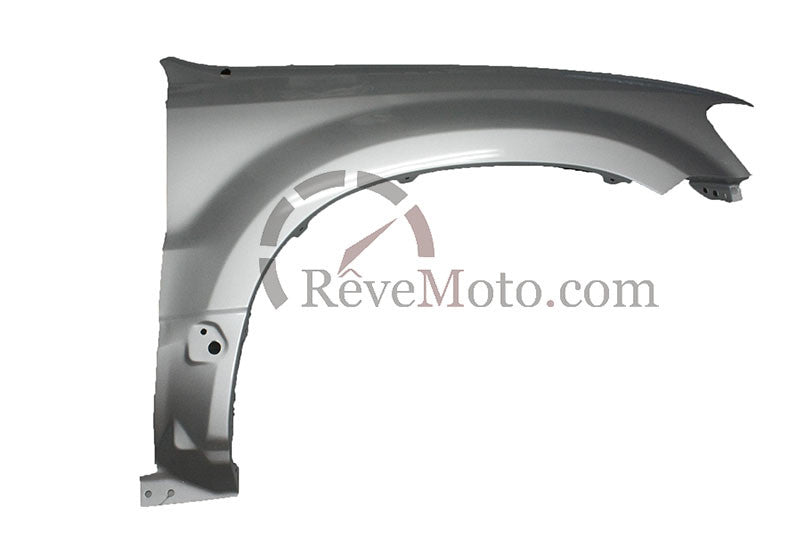 2001-2007 Ford Escape Driver Side Fender (w-molding; w-o side repeater lamp, w-Fender Flare Holes, w-o Antenna Hole and Signal Light Hole) FO1240215