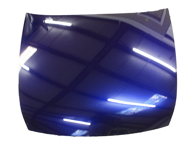 2003 Honda Accord Hood Painted Nighthawk Black Pearl (B92P)