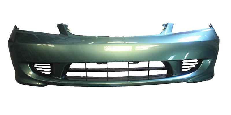 2004 Honda Civic Front Bumper Painted Galapagos Green Metallic (G511M)