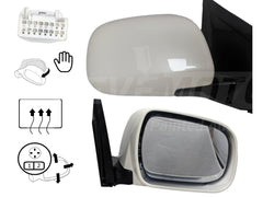 2004_Lexus_RX330_Passenger_Side_View_Mirror_Manual_Folding_Heated__With_Memory_Without_Dimmer_Painted_Crystal_White_Pearl_62_879100E900
