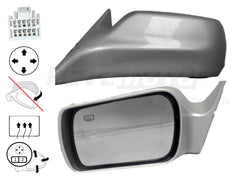 2001_Toyota_Avalon_Driver_Side_View_Mirror_XLXLS_Power_Non-Folding_Heated_w_Memory_Painted_Silver_Metallic_1C8_87940AC030C0