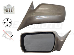 2001_Toyota_Avalon_Driver_Side_View_Mirror_XL_XLS_Power_Non-Heated_Non-Folding_w_o_Memory_Painted_Desert_Sand_Mica_4Q2_87940AC011C0