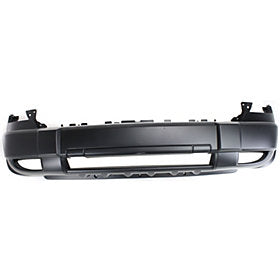 2005-2007 Jeep Liberty Front Bumper (w/ Tow Hook Holes) - CH1000868