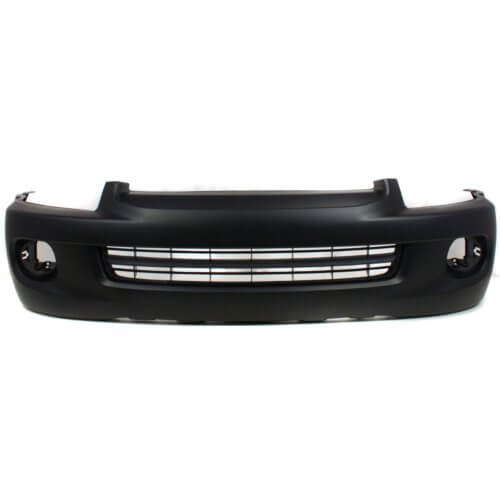 2005-2007 Toyota Sequoia Front Bumper; w_ Textured Grilled Area; TO1000293; 521190C942