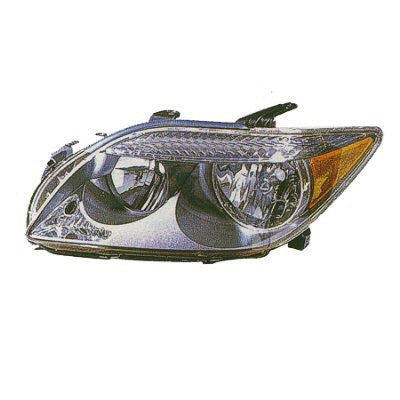 2005,2006,2007 Scion tC Headlight; Driver side, Passenger side