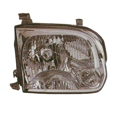 2005,2006,2007 Toyota Sequoia Headlight; Driver side ,Passenger side