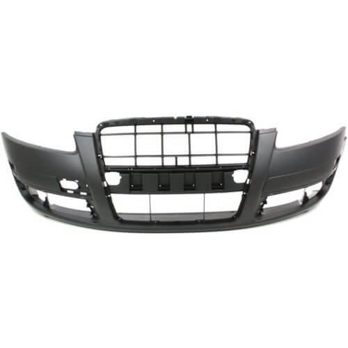 2005-2008 Audi A6 Front Bumper Cover wo Head Light Washer Holes Type 1_AU1000156