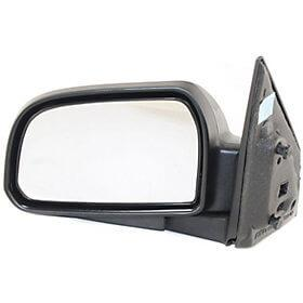 2005-2009 Hyundai Tucson Driver Side Power Door Mirror (Heated; Power; Manual Folding) HY1320152