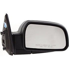 2005-2009 Hyundai Tucson Passenger Side Power Door Mirror (Non-Heated; Power; Manual Folding) HY1321153