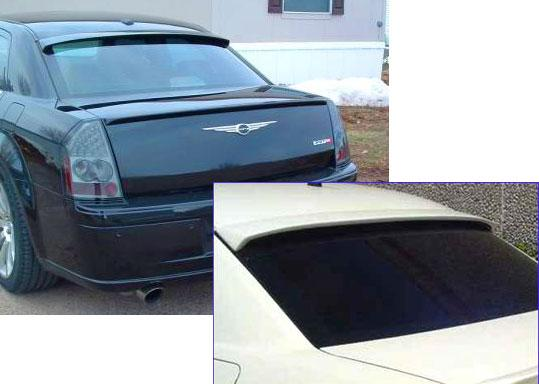 2006 Chrysler 300 Spoiler Painted