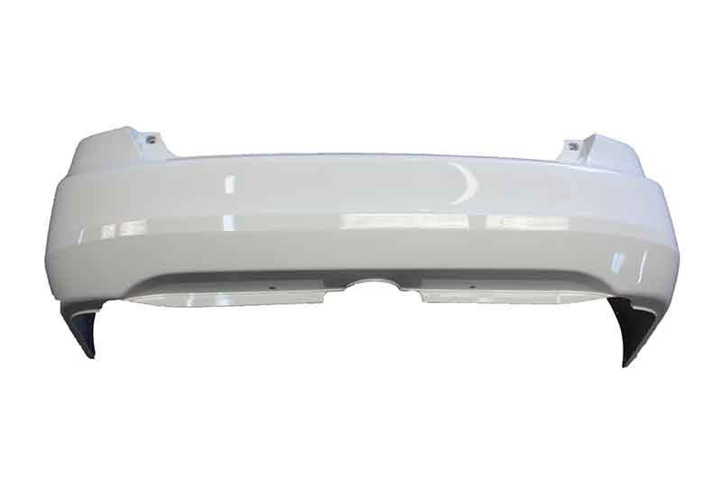 2003 Honda Accord Rear Bumper Painted Satin Silver Metallic (NH623M)