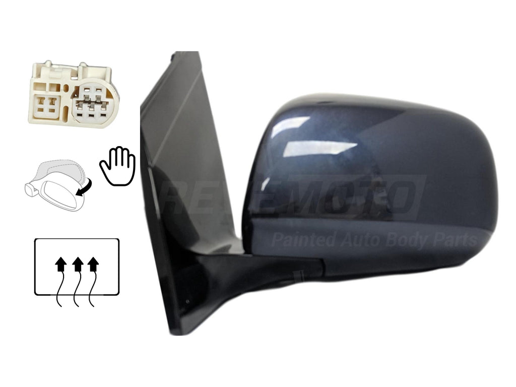 2004-2006 Lexus RX330 Driver Side View Mirror_Power_Manual Folding_Heated_woMemory_woDimmer_8794048230C0