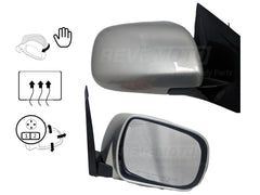 2005_Lexus_RX330_Passenger_Side_View_Mirror_Manual_Folding_Heated_wo_Dimmer_w_Memory_Millenium_Silver_Metallic_1C0__879100E900