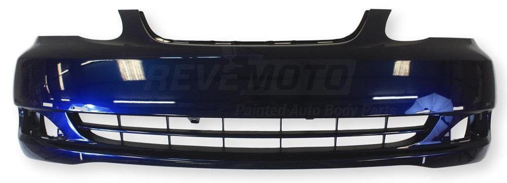 2005-2008 Toyota Corolla Front Bumper; Sedan; CE_LE Models; w_o Spoiler; w_o Ground Effects; TO1000297; 521190Z938