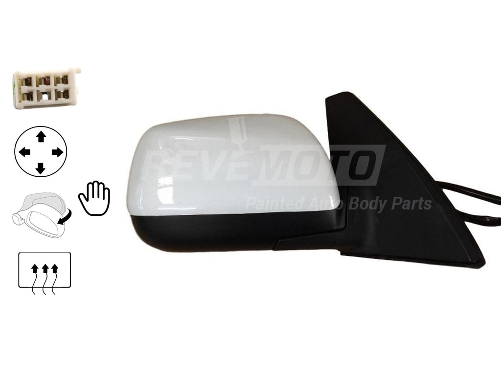 2001-2005 Toyota RAV4 Mirror (Driver Side); Manual; Non-Heated; Manual Folding; TO1320216; 8794042620