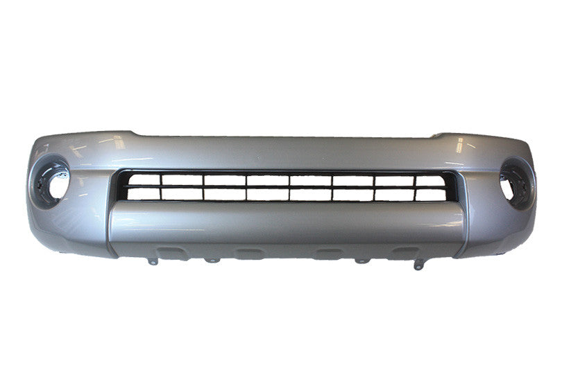 2005 Toyota Tacoma Front Bumper Cover Painted Silver Streak Mica (1E7)
