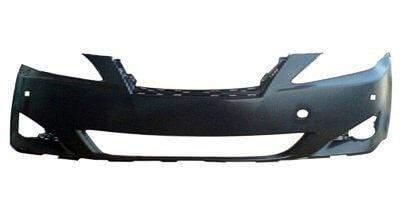 2006-2008 Lexus IS350 Front Bumper; w_ HL Washer Holes; w_ Park Assist Sensor Holes; w_ Pre-Collision; LX1000160; 5211953919