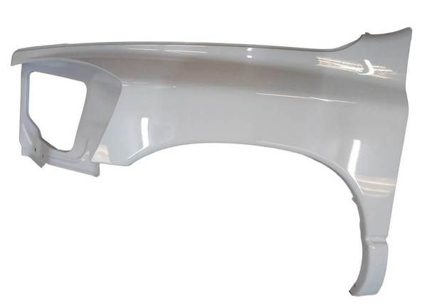 2006-2009 Dodge Ram Fender Painted Bright Silver Metallic (PS2), Driver-Side
