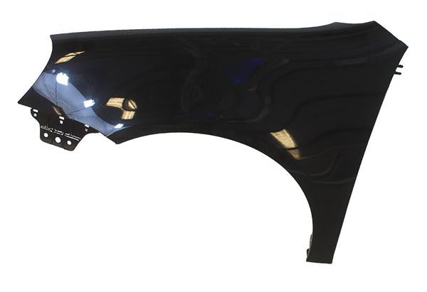 2006-2009 Volkswagen GTI Fender Painted Black Magic Pearl (LC9Z), Driver-Side