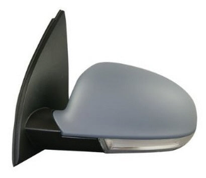 2006-2009 Volkswagen GTI Side View Mirror (Heated; w/ Signal Light; Driver-Side) - VW1320124