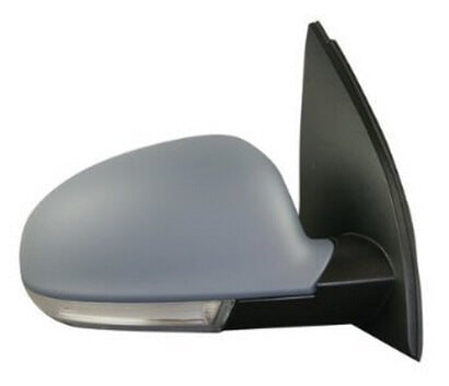 2006-2009 Volkswagen Rabbit Side View Mirror (Heated; w/ Turn Signal; Driver-Side) - VW1320124