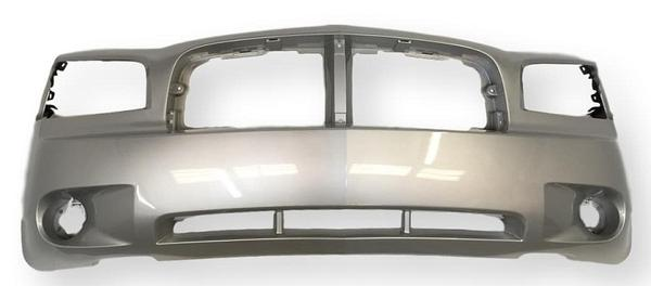 2006-2010 Dodge Charger Front Bumper, BASE/POLICE/SE/SXT/RT, Painted Bright Silver Metallic (PS2)