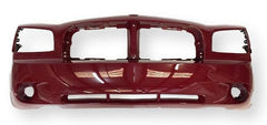 2006-2010 Dodge Charger Front Bumper, BASE_POLICE_SE_SXT_RT, Painted Inferno Red Crystal Pearl (PRH)