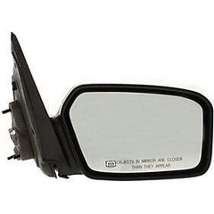 2006-2010 Ford Fusion Passenger Side Power Door Mirror (Heated; w-o Puddle Light; Pwr; Non-Fldg; Exc Hybrid Model; 2 Caps) FO1321266