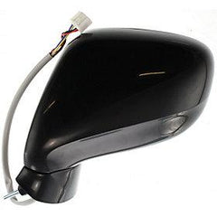 2006-2010 Lexus IS250 Mirror (Driver Side); Sedan-  w/o Sport Package; w/o Luxury Package; Power; Manual Folding; Heated; w/o Memory; w/ Puddle Light; w/o Auto Dimming; LX1320109; 8794053241
