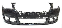 2006-2010 Volkswagen Passat Front Bumper Painted Deep Black Pearl (LC9X), w/o Park Assist; w/o Head Light Washer