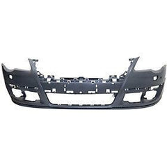 2006-2010 Volkswagen Passat Front Bumper (w/ Park Assist Sensor Holes; w/ Head Light Washer Holes) - VW1000162